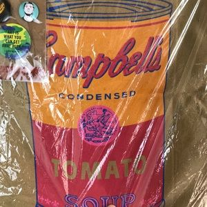 Andy Warhol Campbell's Condensed Tomato Soup Tote Bag